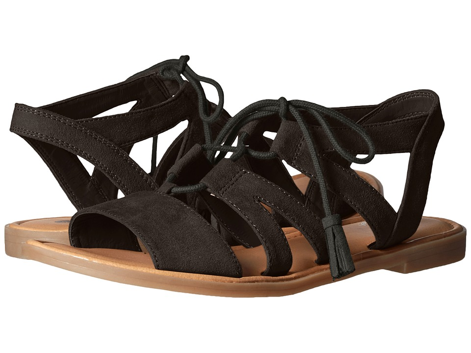 Dr. Scholl's - Encourage (Black Microsuede) Women's Shoes