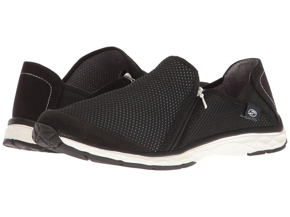 Dr. Scholl's - Anna Zip (Black Luna Knit) Women's Shoes