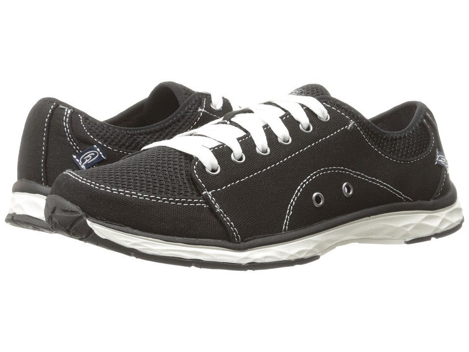Dr. Scholl's - Anna (Black Canvas) Women's Shoes