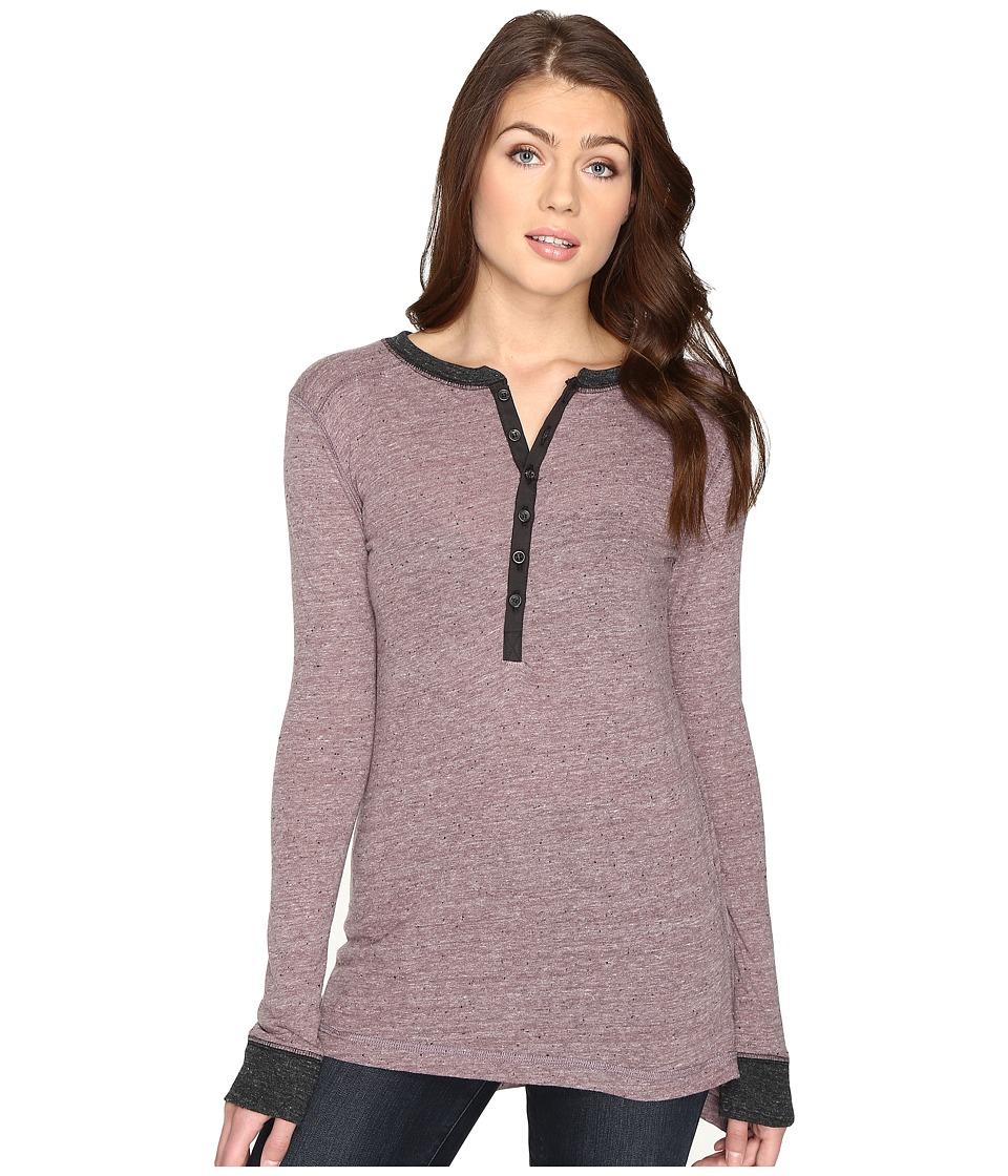 Alternative - Woodlands Eco-Nep Jersey Tunic (Eco Dark Ruby) Women's Clothing