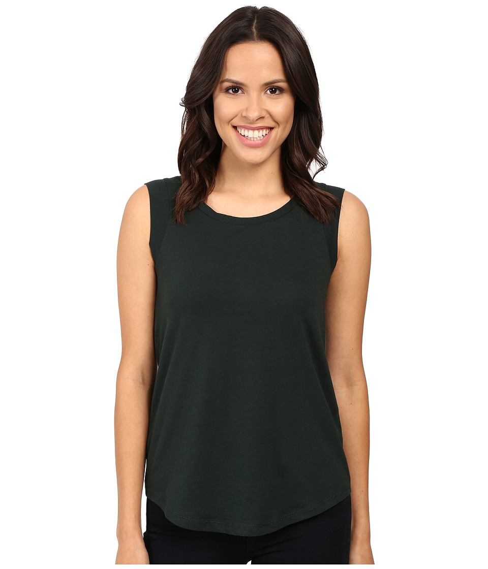 Alternative - Cap Sleeve Crew (Black Forest) Women's T Shirt