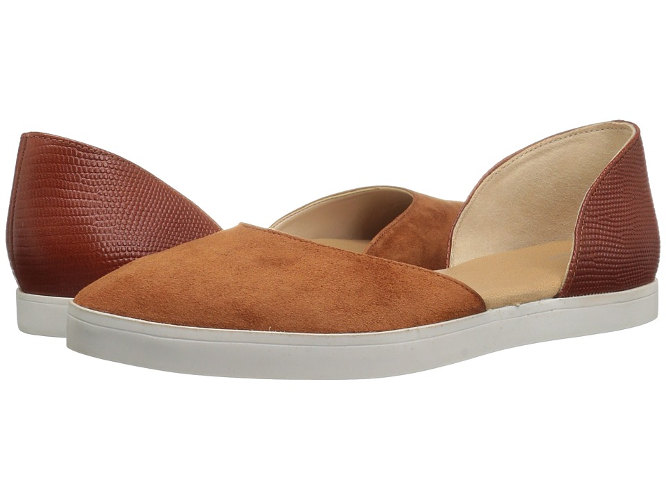 Dr. Scholl's - Vienna II - Original Collection (Ginger Spice Suede/Leather) Women's Shoes