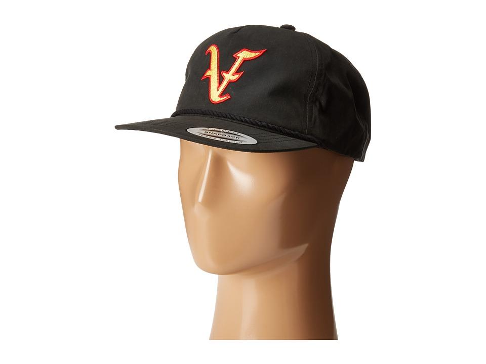 Volcom - Villain Snapback (Black) Caps