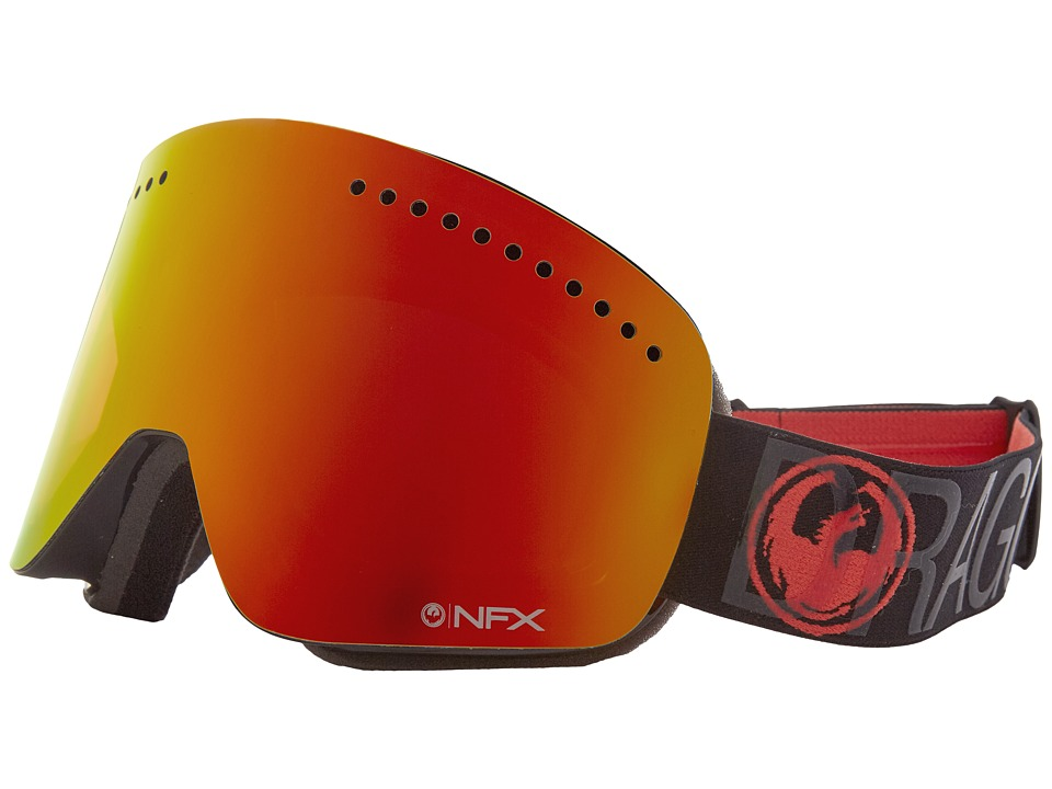 Dragon Alliance - NFX (Covert/Red Ion/Amber) Goggles