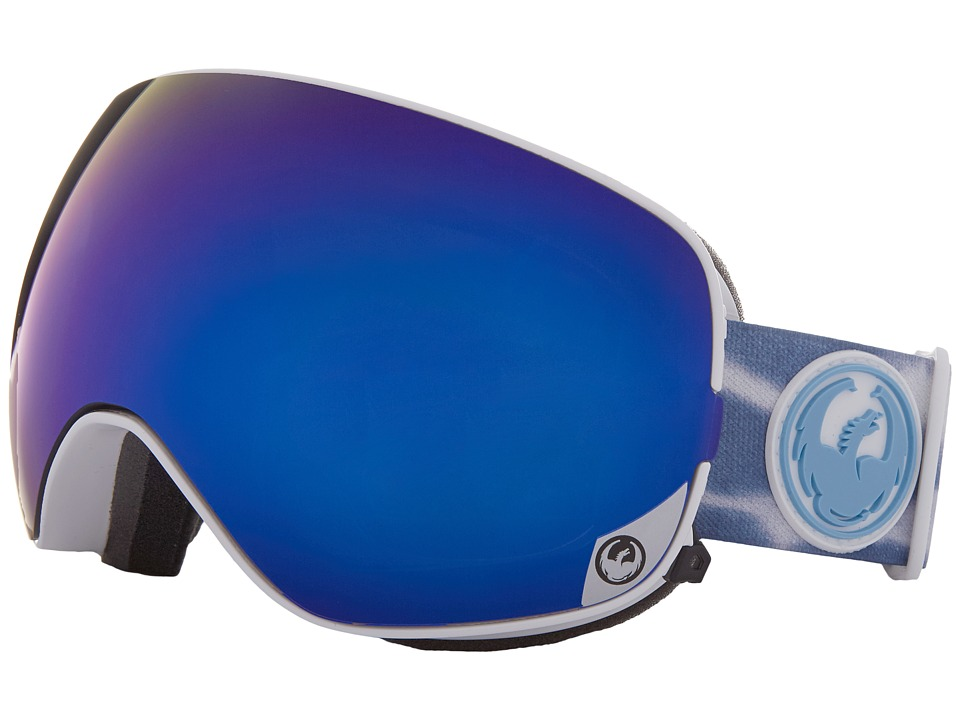Dragon Alliance - X2S (Onus Blue/Dark Smoke Blue/Yellow Blue Ion) Sport Sunglasses