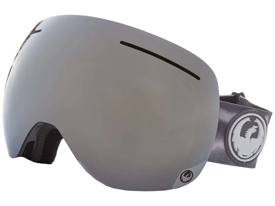 Dragon Alliance - X1 (Onus Grey/Mirror Ion/Yellow Red Ion) Snow Goggles