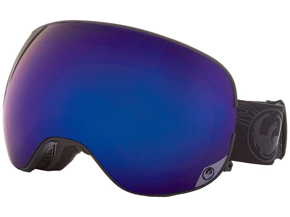 Dragon Alliance - X2 (Bryan Iguchi/Blue Steel/Yellow Red Ion) Snow Goggles