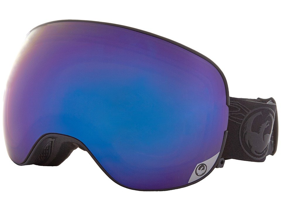 Dragon Alliance - X2S (Patina Royal/Purple Ion/Yellow Red Ion) Sport Sunglasses