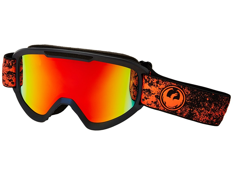 Dragon Alliance - DX2 (Energy Scarlet/Red Ion/Yellow Blue Ion) Snow Goggles