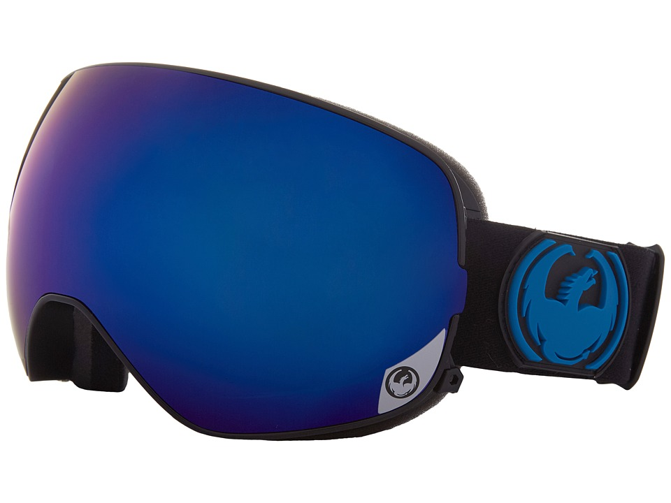 Dragon Alliance - X2S (Jet/Dark Smoke Blue/Yellow Red Ion) Sport Sunglasses