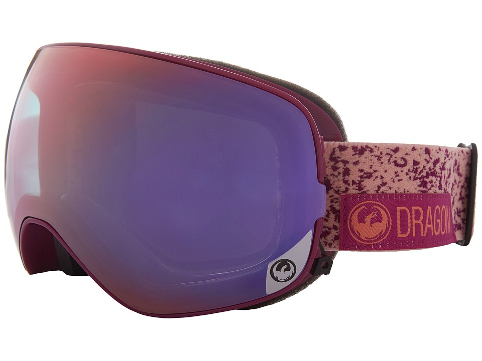 Dragon Alliance - X2S (Stone Pink/Purple Ion/Pink Ion) Sport Sunglasses