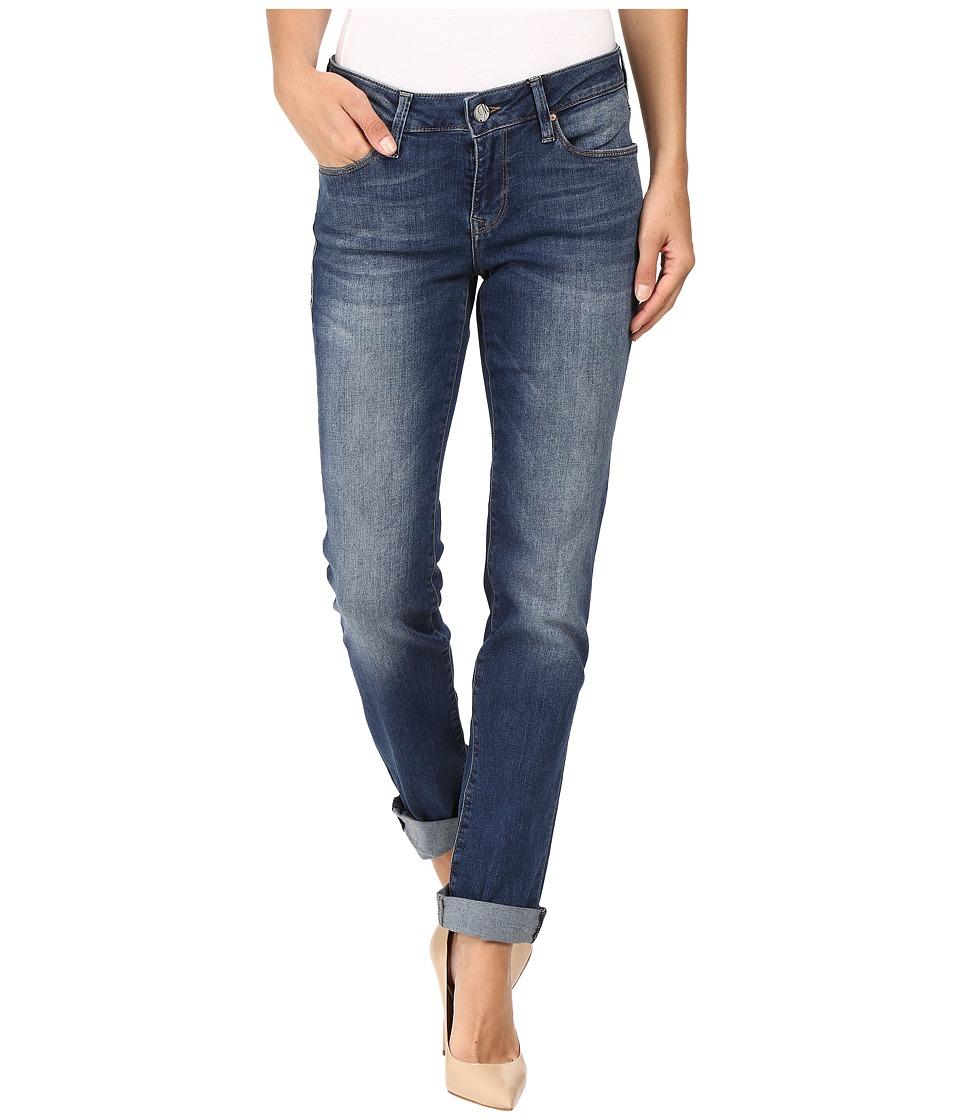 Mavi Jeans - Emma Slim Boyfriend in Deep Tribeca (Deep Tribeca) Women's Jeans