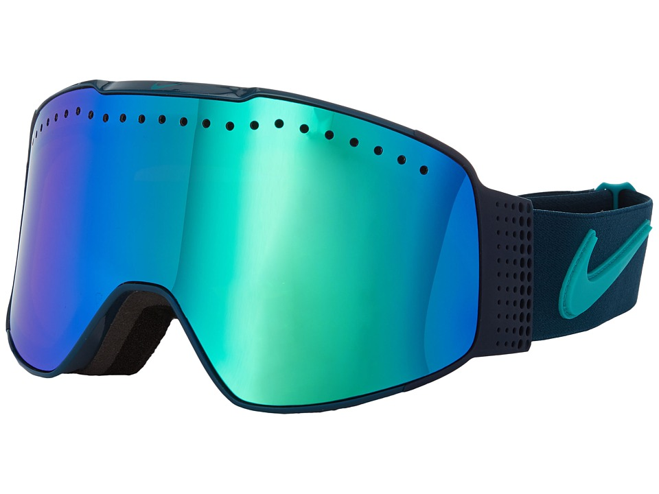 Dragon Alliance - Fade X Nike (Midnight/Green Ion/Yellow Red Ion) Goggles