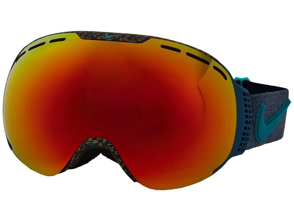 Dragon Alliance - Command X Nike (Tortoise/Red Ion/Yellow Blue Ion) Goggles