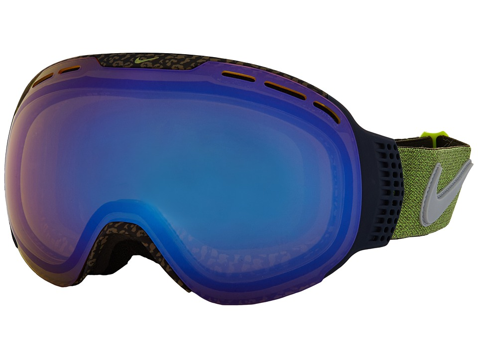 Dragon Alliance - Command X Nike (Tortoise/Yellow/Blue Ion Jet Ion) Goggles