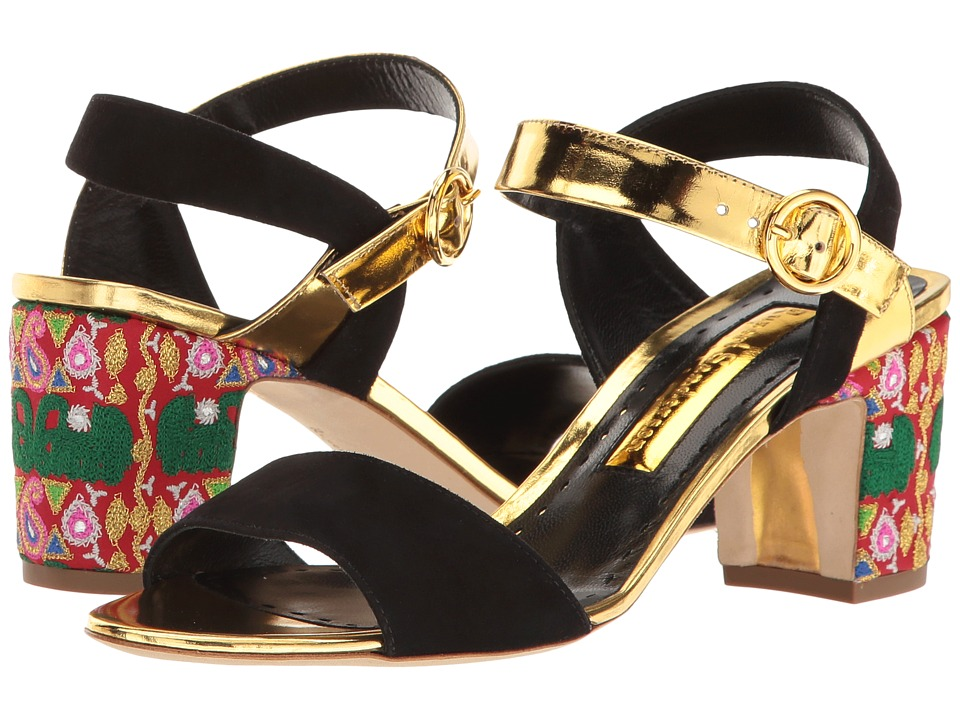 Rupert Sanderson Pythia (Ganesha/Mirror Bottle/Gold) High Heels