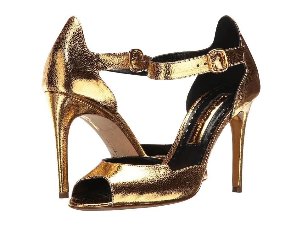 Rupert Sanderson - Telita (Gold Metallic Grain Nappa) High Heels