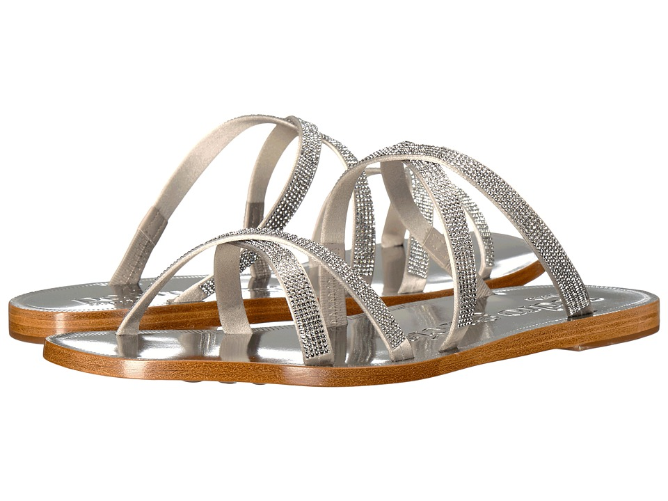 Pedro Garcia - Zarella (Titanium Satin) Women's Sandals