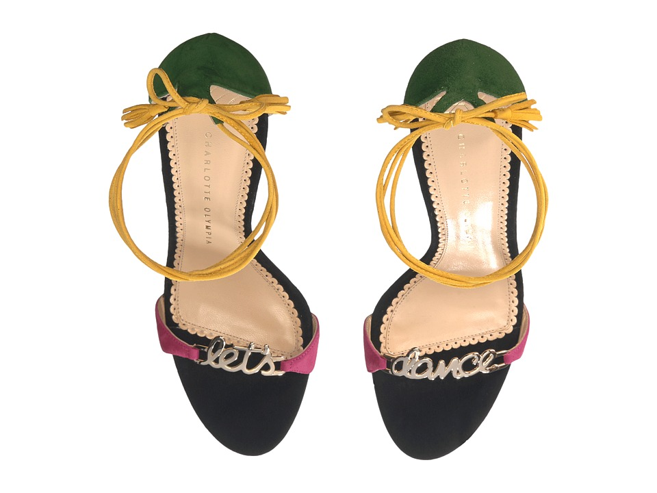 Charlotte Olympia - Let's Dance (Multicolour Suede) High Heels