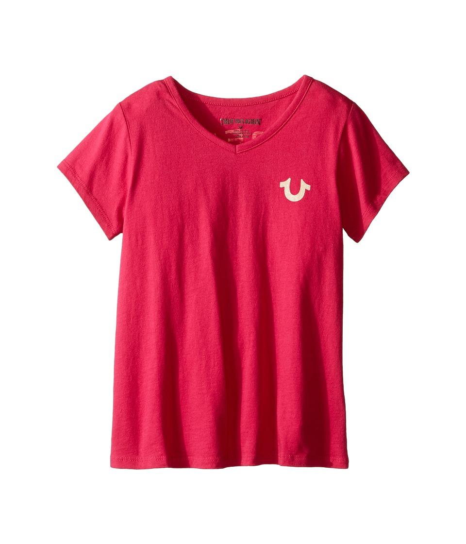 True Religion Kids - Branded Logo T-Shirt (Toddler/Little Kids) (Fuchsia) Girl's T Shirt