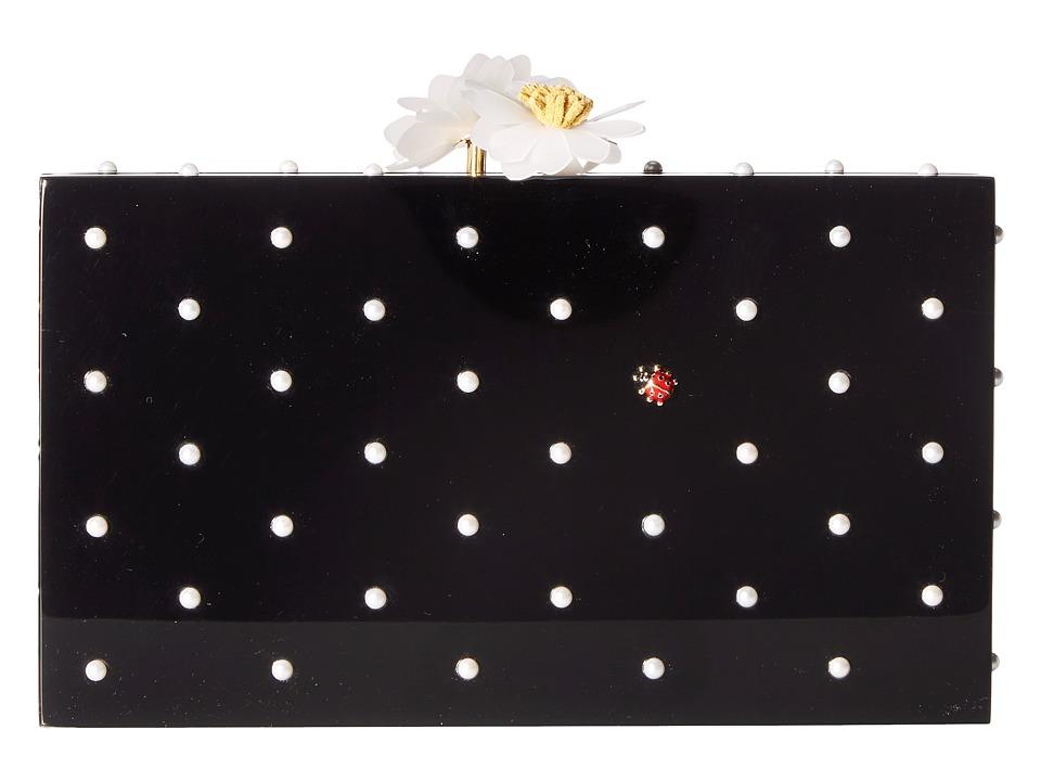 Charlotte Olympia - Fresh Pandora (Black Perspex) Handbags
