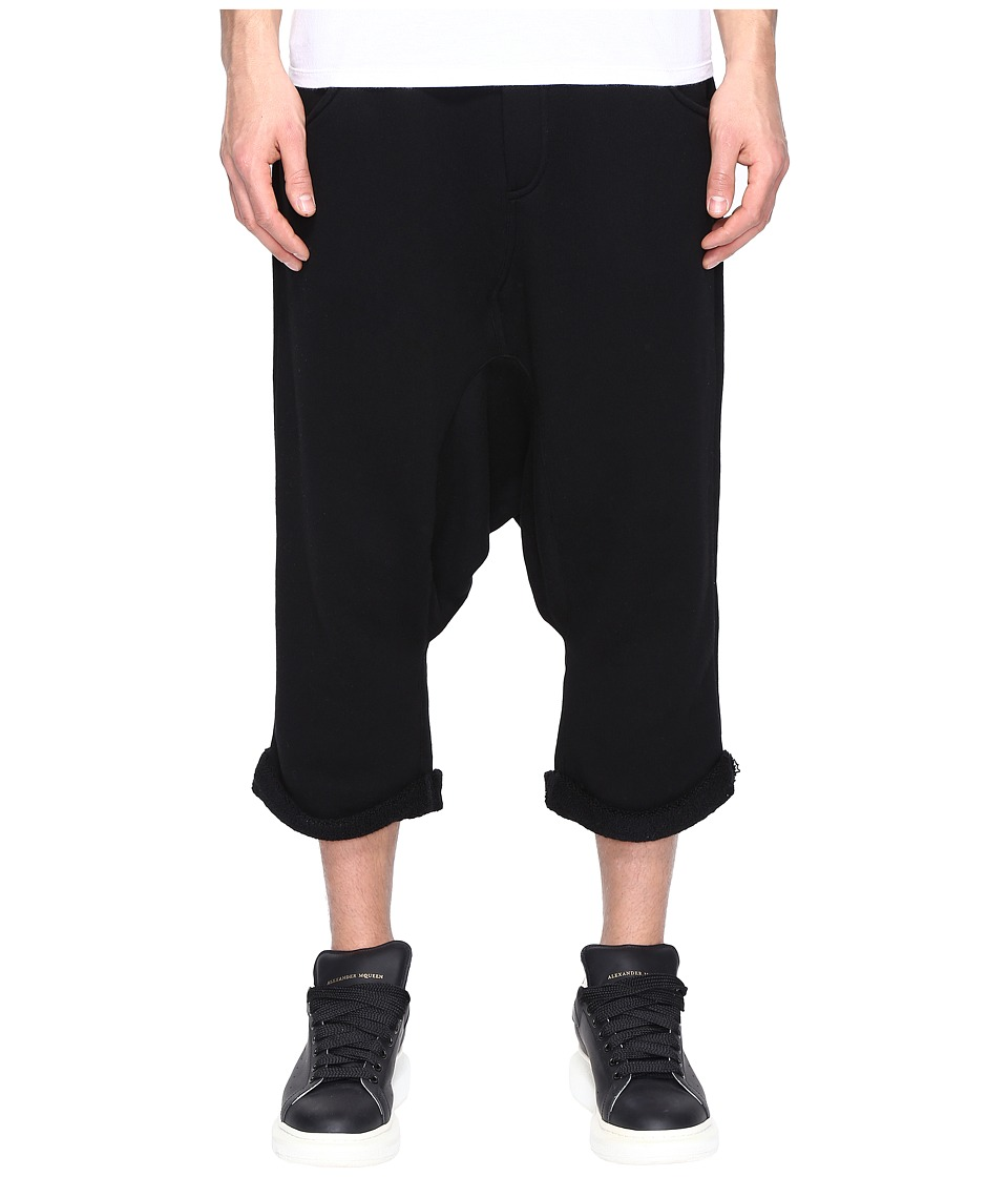 Mostly Heard Rarely Seen - Dropcrotch Drawstring Shorts (Dark Grey) Men's Shorts