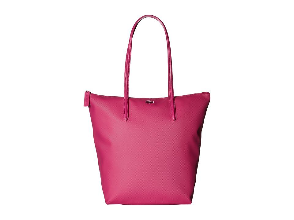 Lacoste - L.12.12 Concept Vertical Shopping Bag (Festival Fuchsia) Handbags