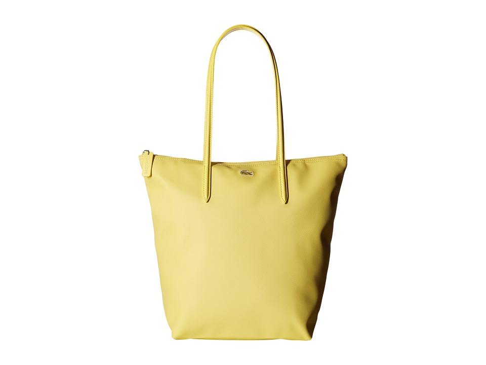 Lacoste - L.12.12 Concept Vertical Shopping Bag (Sunshine) Handbags