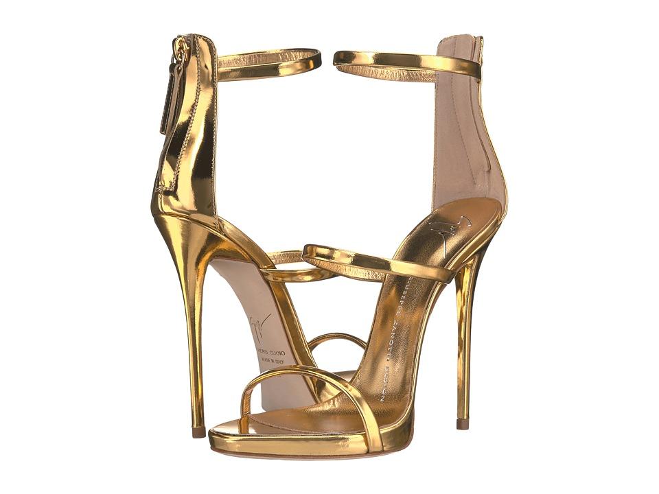 Giuseppe Zanotti - E70019 (Shooting Oro) Women's Shoes