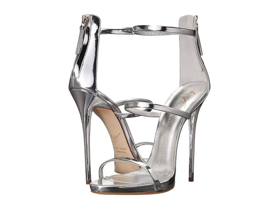 Giuseppe Zanotti - E70019 (Shooting Argento) Women's Shoes