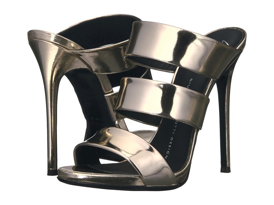 Giuseppe Zanotti - E70137 (Shooting Platino) Women's Shoes