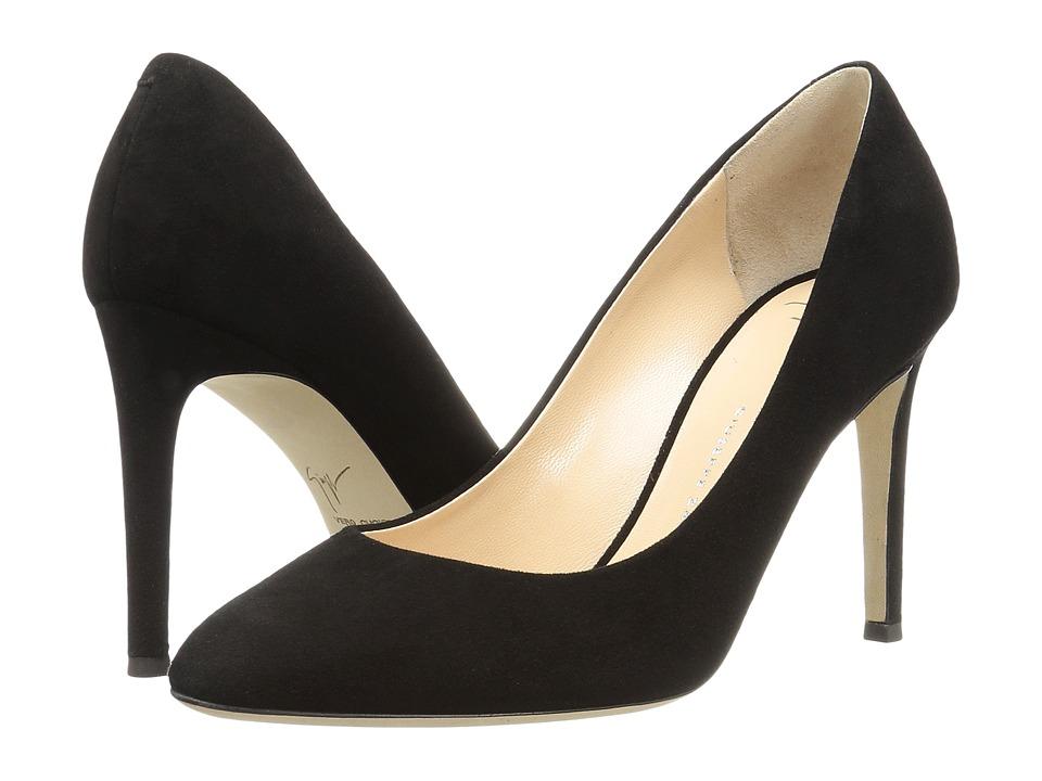 Giuseppe Zanotti - E76062 (Cam Nero x 3 Fod Blonde TC Ric) Women's Shoes