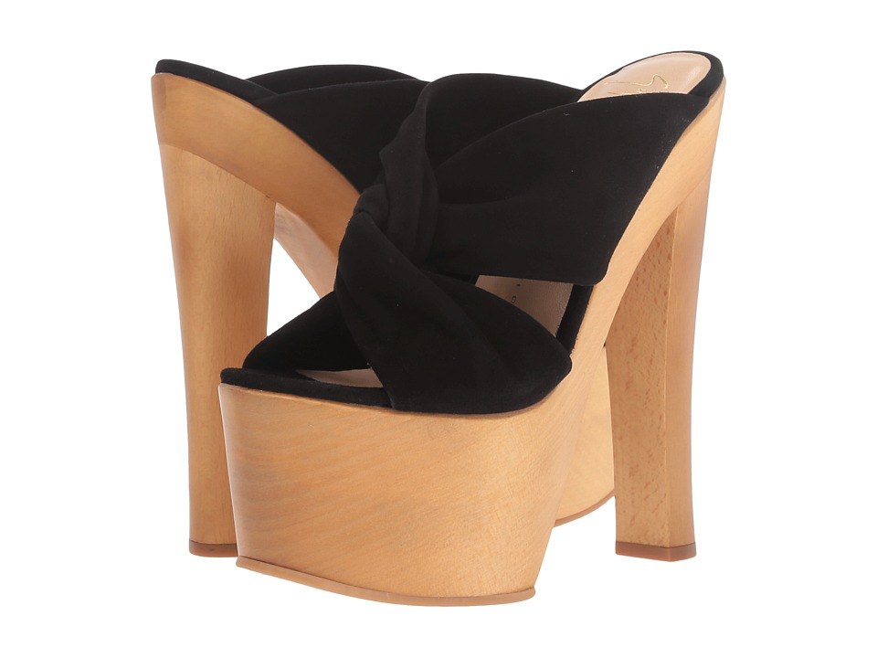 Giuseppe Zanotti - E70091 (Cam Nero X 2 Fod Blonde) Women's Shoes