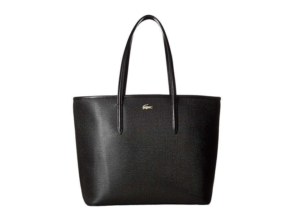 Lacoste - Chantaco Shopping Bag (Black 1) Handbags