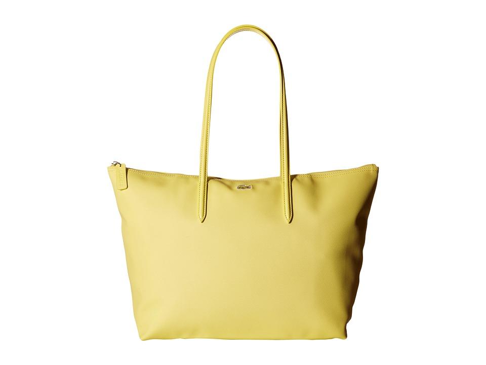 Lacoste - L.12.12 Concept Large Shopping Bag (Sunshine) Tote Handbags
