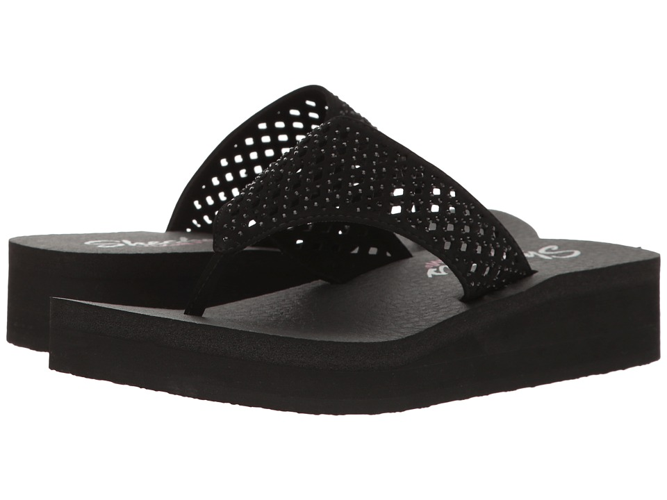 SKECHERS - Vinyasa - Flow (Black) Women's Shoes