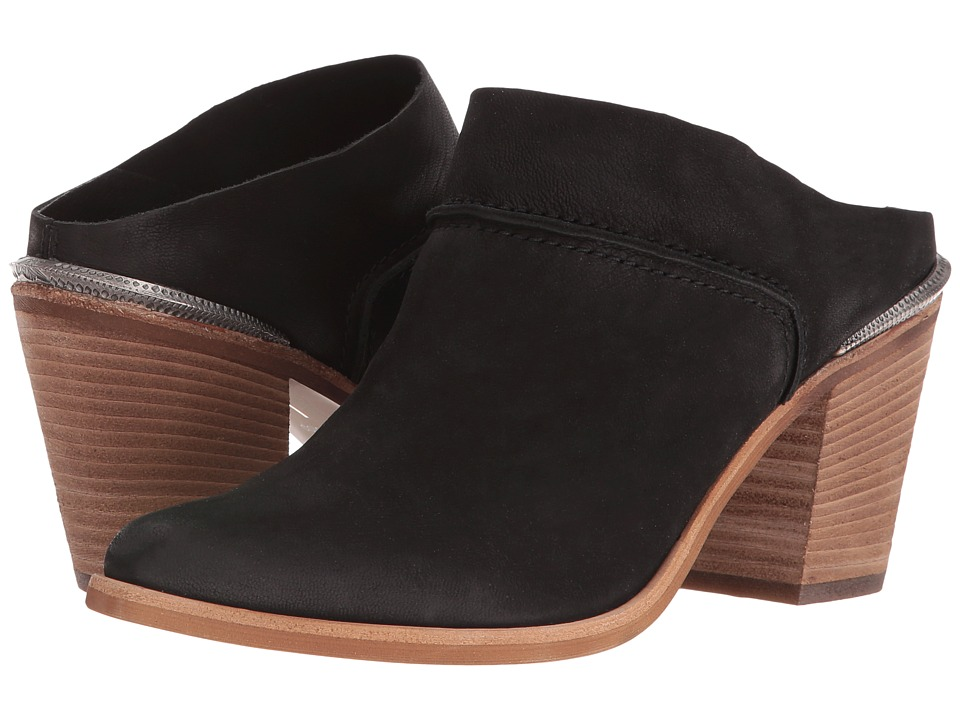 Dolce Vita - Wes (Black Nubuck) Women's Shoes