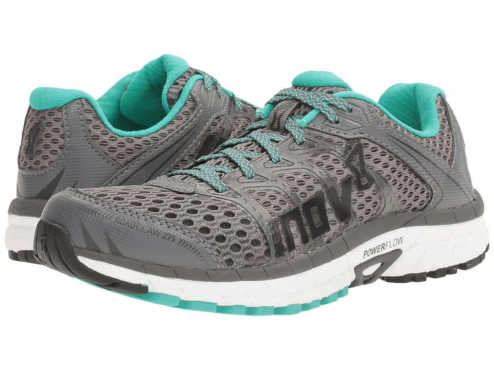 inov-8 Road Claw 275 (Dark Grey/White/Teal) Women