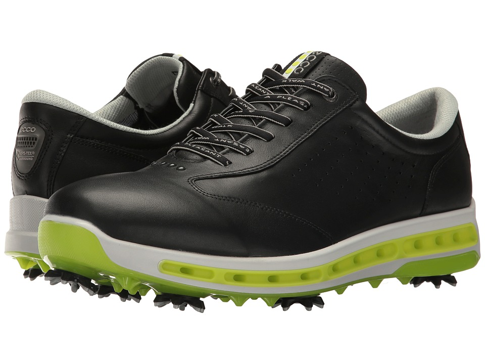 ECCO Golf - Cool GTX (White/Black) Men's Golf Shoes