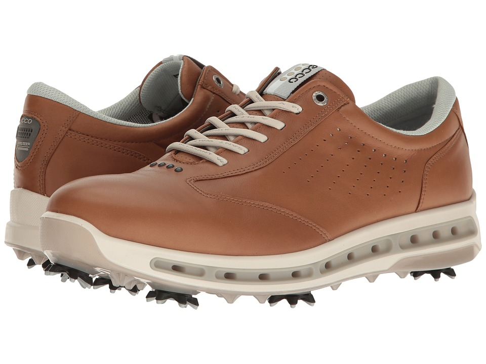 ECCO Golf - Cool GTX (Camel) Men's Golf Shoes