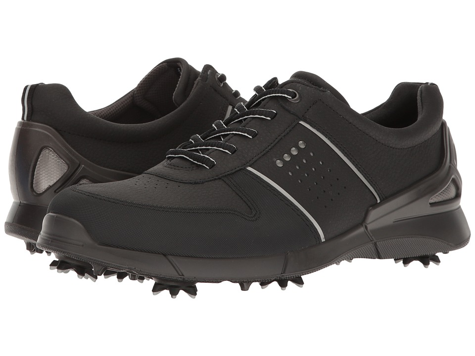 ECCO Golf - Base One (Black) Men's Golf Shoes