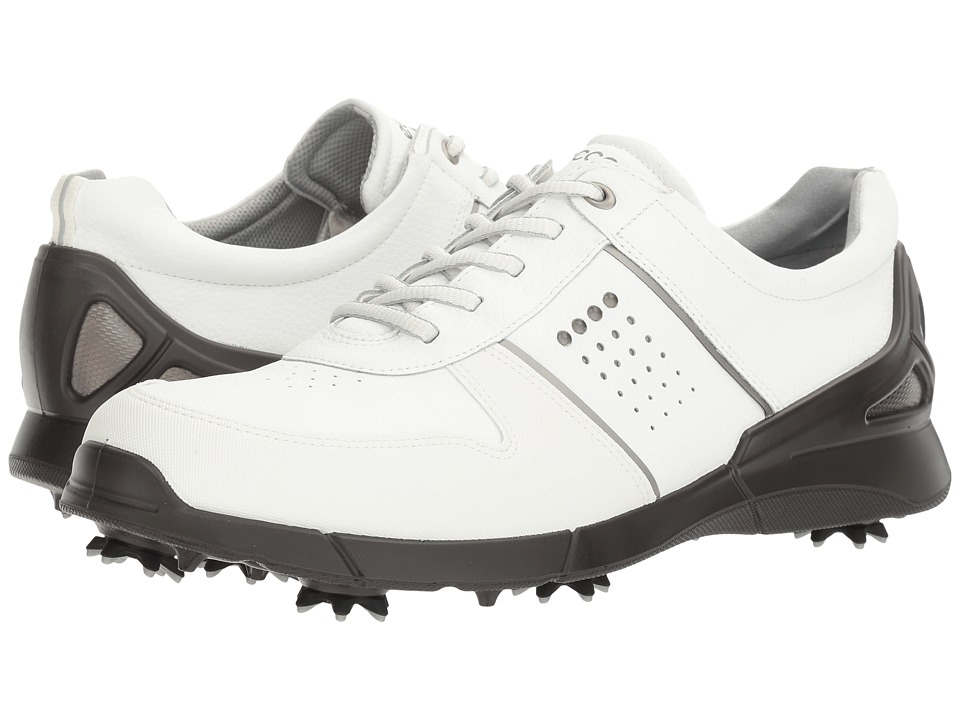 ECCO Golf - Base One (White) Men's Golf Shoes