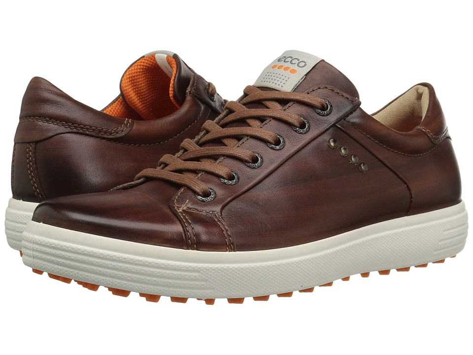 ECCO Golf - Golf Casual Hybrid (Whiskey) Men's Golf Shoes