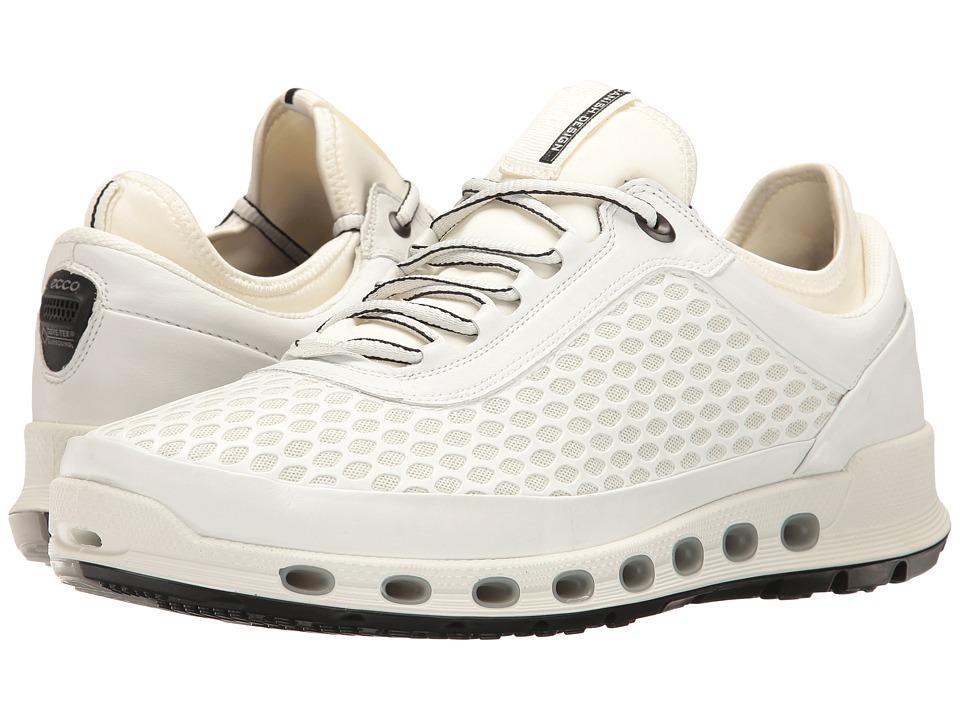 ECCO Sport - Cool 2.0 Textile GTX (White/White) Men's Lace up casual Shoes