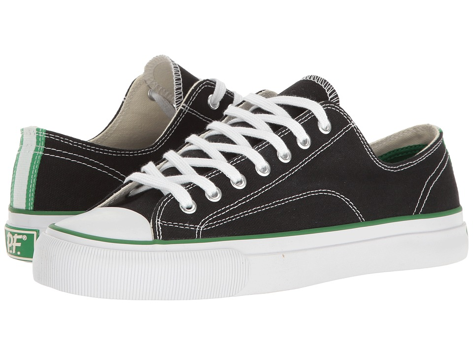 PF Flyers - All-American Center Lo (Black) Men's Shoes