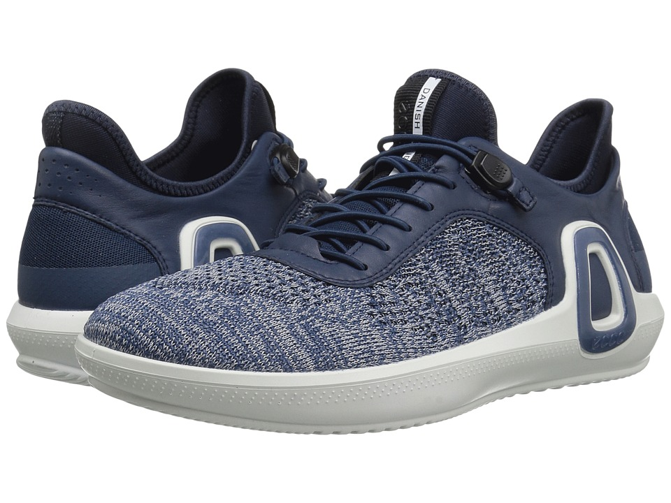 ECCO Sport - Intrinsic 3 Textile (True Navy Concrete/True Navy) Men's Lace up casual Shoes