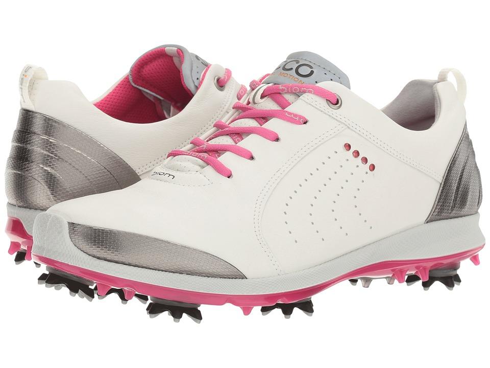ECCO Golf BIOM G 2 Free (White/Candy) Women