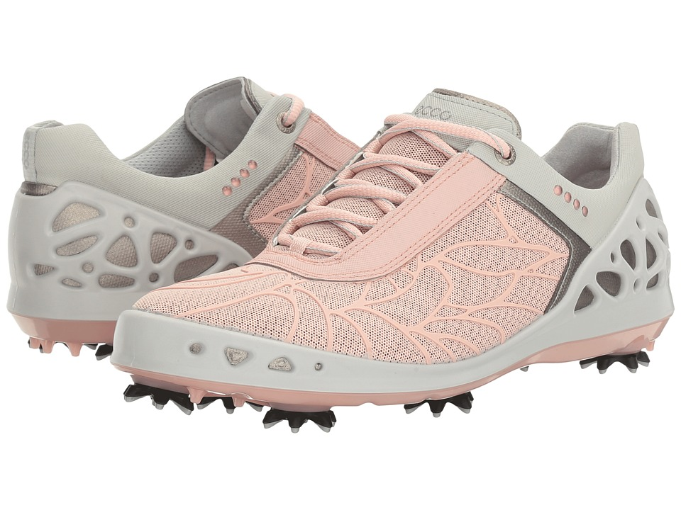 ECCO Golf - Cage EVO (Silver Pink) Women's Golf Shoes