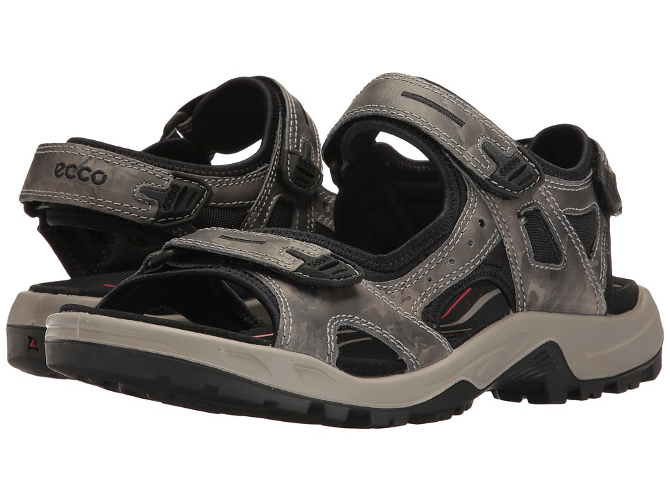 ECCO Sport - Yucatan Sandal (Tarmac) Men's Toe Open Shoes