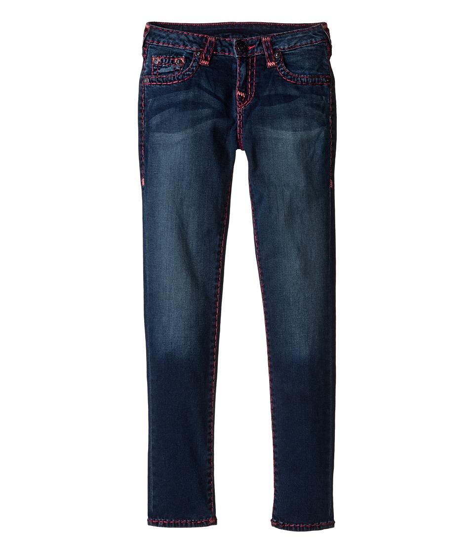 True Religion Kids Casey Super T Jeans in Alameda Wash (Big Kids) (Alameda Wash) Girl
